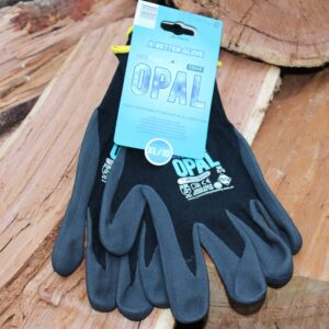 Neoflex gloves Xl on a wood stack