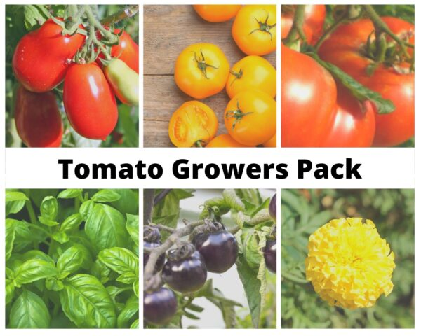 Tomato Growers Pack sign